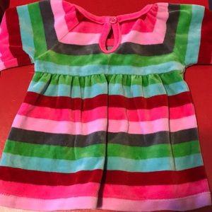 OshKosh B'gosh Dresses - Baby girl velvet dress Oshkosh 3M